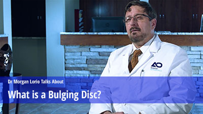 What is bulging disc