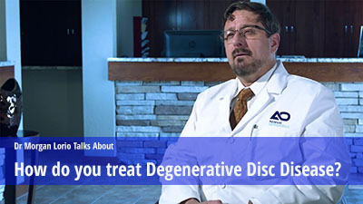 Treating  disc degenerative disease