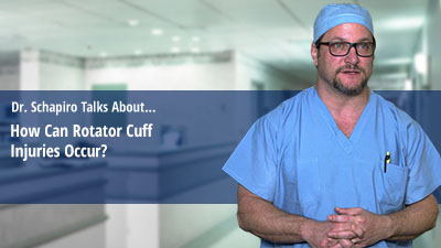 How Can Rotator Cuff Injuries Occur?