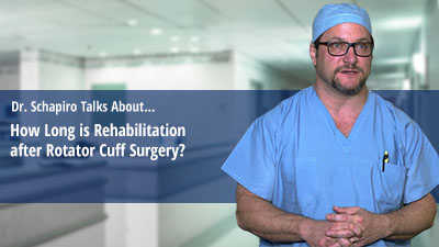 How Long is Rehabilitation after Rotator Cuff Surgery?