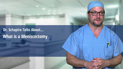 What is a Meniscectomy